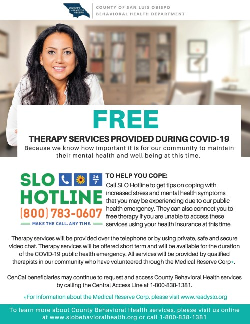 free therapy flyer